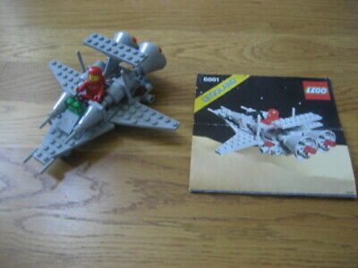 1980 Vintage LEGO Classic Space Set #6861 X-1 Patrol Craft COMPLETE Instructions