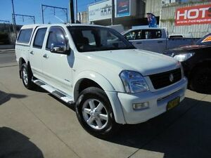 2005 Holden Rodeo RA MY05.5 LT White 4 Speed Automatic 4D Utility Granville Parramatta Area Preview