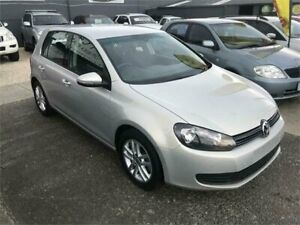2011 Volkswagen Golf VI MY11 103TDI Comfortline Silver Sports Automatic Dual Clutch Hatchback Dandenong Greater Dandenong Preview