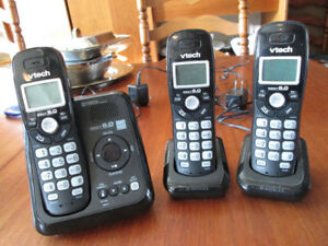 Cordless phone sets & Brother Fax phone set