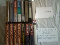 16x CASSETTE TAPES JOBLOT OR WILL SPLIT @50p EACH.Many brands/types/lengths, new/used & prerecorded.