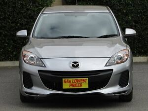 2012 Mazda 3 BL10F2 MY13 Neo Silver 6 Speed Manual Hatchback Blair Athol Port Adelaide Area Preview