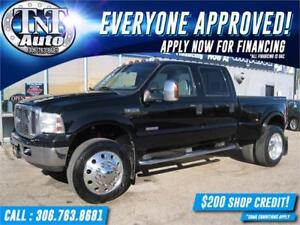 2007 Ford F-350 SD DIESEL DUALLY HARLEY-4X4-LEATHER-SROOF-LIFT