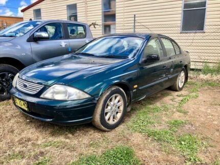 2001 Ford Falcon Auii Forte Green 4 Speed Automatic Sedan