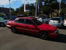 1993 Mitsubishi Magna TR Executive Red 4 Speed Automatic Sedan New Lambton Newcastle Area Preview