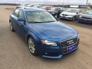 SOLD SOLD SOLD 2009 Audi A4 4dr Sdn Man 2.0T Quattro AWD 6 Speed