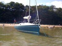 Yacht, Jeanneau Sun 2000, 4 berth, 6.64m length.