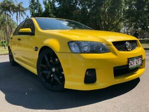 2010 Holden Commodore VE II SS V Yellow 6 Speed Sports Automatic Sedan Woodridge Logan Area Preview