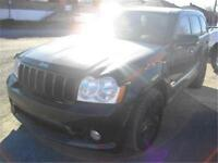 JEEP GRAND CHEROKEE SRT8 2007 , V8 HEMI 6.1 L 400 HP,NOIR , 1280
