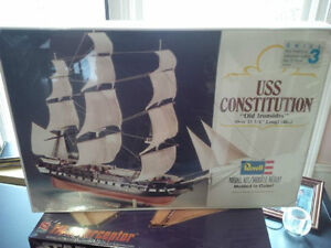 USS Constitution Old Ironsides Model Skill 3 by Revell -Orig Pkg Kitchener / Waterloo Kitchener Area image 1