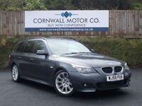 BMW 5 SERIES 2.0 520D M SPORT BUSINESS EDITION TOURING 5d AUTO (grey) 2009