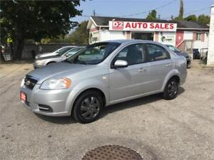 2007 Chevrolet Aveo Automatic/Gas Saver/Certifed