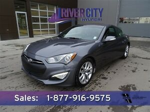 2015 Hyundai Genesis Coupe 3.8L PREMIUM Navigation (GPS),  Leath