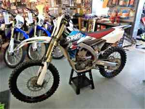 2014 Yamaha YZ450 STRIKT and Mountains Edge Race bike