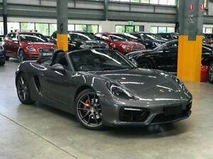 2014 Porsche Boxster 981 GTS Convertible 2dr PDK 7sp 3.4i [MY15] Grey Sports Automatic Dual Clutch