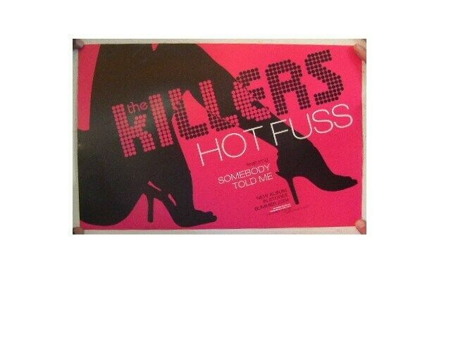 The Killers Poster  Hot Fuss