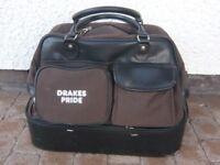 """Drakes Pride"" Large Brown Four Bowl, Bowling Bag"