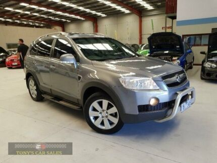 2009 Holden Captiva CG LX Grey Sports Automatic Wagon Laverton North Wyndham Area Preview