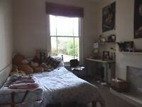 Furnished double bedroom in a student property
