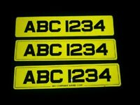 NUMBER PLATES MADE. METRO AND STANDARD STYLE. MADE SAME DAY.