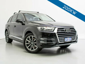 2015 Audi Q7 4M 3.0 TDI Quattro Orca Black 8 Speed Automatic Tiptronic Wagon Jandakot Cockburn Area Preview