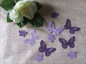75-PEARLESCENT-LARGE-SMALL-BUTTERFLY-Wedding-PARTY-Table-Confetti-Topper