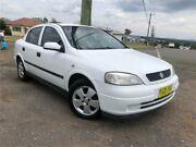 2002 Holden Astra TS MY03 CD White Manual Sedan Kurri Kurri Cessnock Area Preview