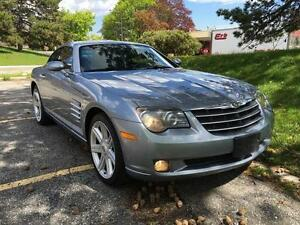 2005 CHRYSLER CROSSFIRE LIMITED, LOW KM, SAFETY ETEST INCLUDED