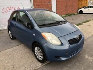 2007 Toyota Yaris MANUEL MODEL DE BASE
