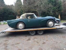 Daimler Dart SP250. 1964. Restoration Project. very rare.