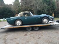 Daimler Dart SP250. 1964. Restoration Project. very rare.