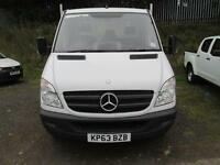 Mercedes-Benz Sprinter 313 LWB Dropside DIESEL MANUAL WHITE (2013)