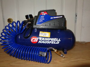 Campbell Hausfeld 110 PSI Air Compressor. Excell Auctions