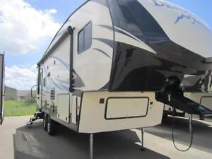 2017 28 FT DUTCHMEN RV DENALI LITE 2445RLX 5TH WHEEL