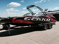 Gekko Revo 7.1 Wake Surfing Boat at New Coast Marine