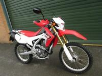 HONDA CRF 250L 2015 ELECTRIC START ROAD REG'ED FUEL INJECTION ENDURO BIKE