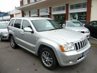 JEEP GRAND CHEROKEE 3.0 S LIMITED CRD V6 5d AUTO 215 BHP (silver) 2009