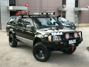 2005 Nissan Navara D22 S2 ST-R Black 5 Speed Manual Utility Mill Park Whittlesea Area Preview