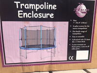 SALE NOW £15: Plum 8ft Trampoline SAFETY NET ONLY : NEW: never used: in original packaging box