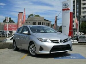 2014 Toyota Corolla ZRE182R Ascent Silver Pearl 7 Speed CVT Auto Sequential Hatchback