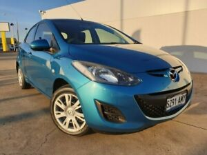 2011 Mazda 2 DE10Y1 MY11 Neo Blue 5 Speed Manual Hatchback Medindie Walkerville Area Preview