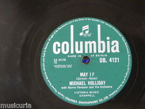 78rpm-MICHAEL-HOLLIDAY-may-i-stairway-of-love