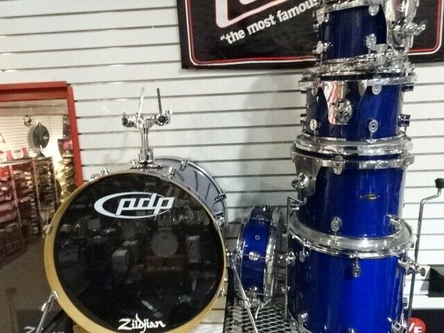 PDP LX Series 5 Piece Drum Set