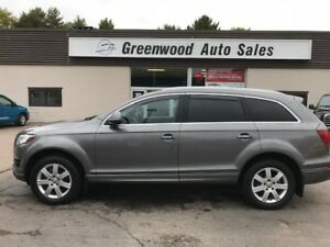 2013 Audi Q7 3.0T Premium PANO ROOF! NAVI! 3RD ROW SEATING!