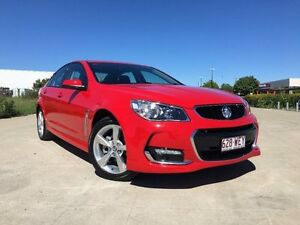 2015 Holden Commodore VF II MY16 SV6 Red Hot 6 Speed Sports Automatic Sedan Garbutt Townsville City Preview
