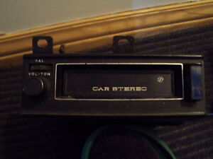 Auto, Car, Cassette, 8 Track Player, Graphic Equalizer,Old Radio Strathcona County Edmonton Area image 2