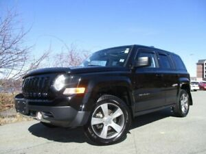 2016 Jeep Patriot High Altitude (4X4, HEATED LEATHER, MOONROOF,