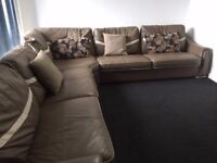 Almost new two sided corner sofa!