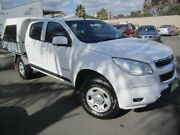 2015 Holden Colorado RG MY15 LS Crew Cab 4x2 White 6 Speed Manual Cab Chassis Melrose Park Mitcham Area Preview