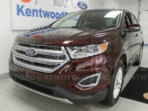 2017 Ford Edge SEL AWD, NAV, heated power leather seats and a un